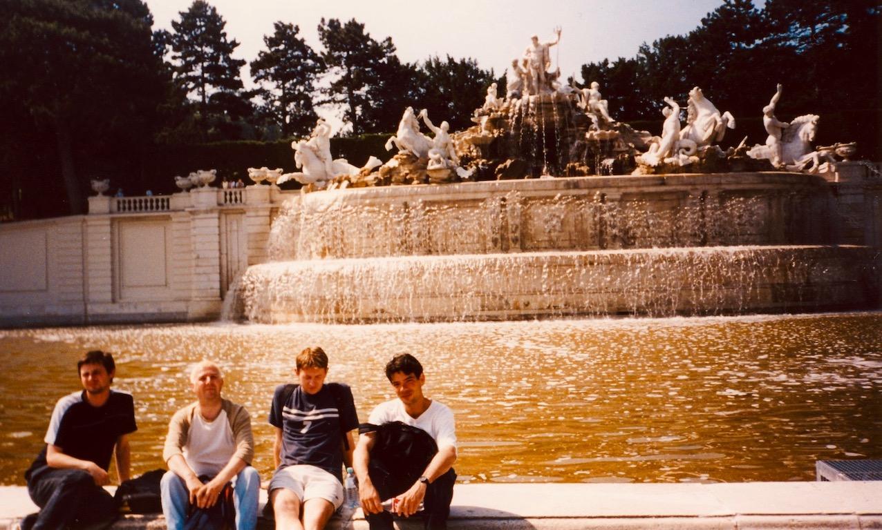 Schonbrunn Palace Vienna Austria.