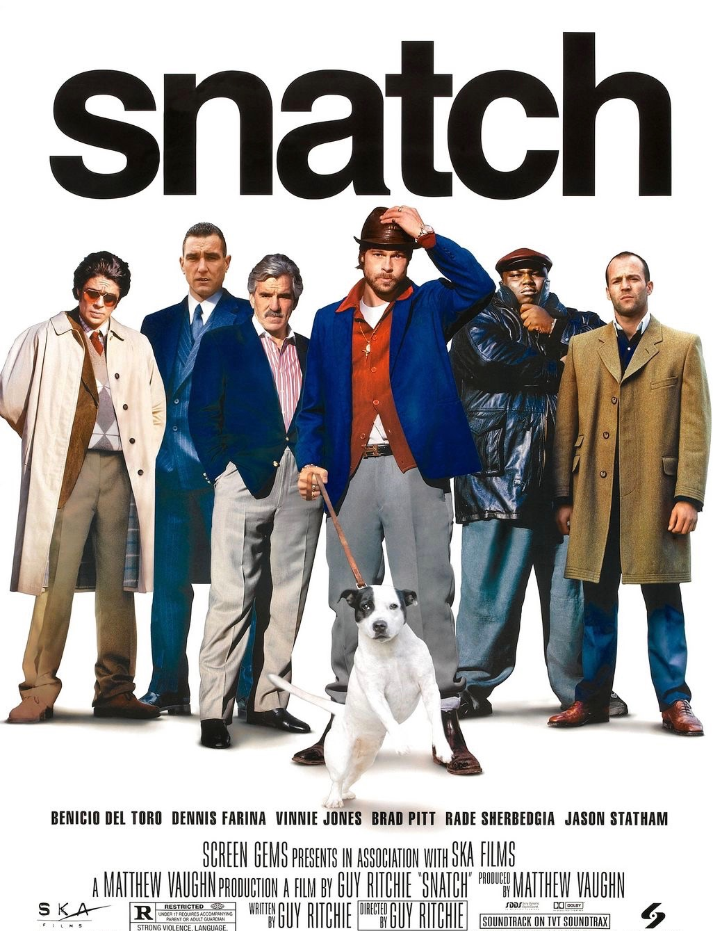 Snatch movie poster Guy Ritchie.