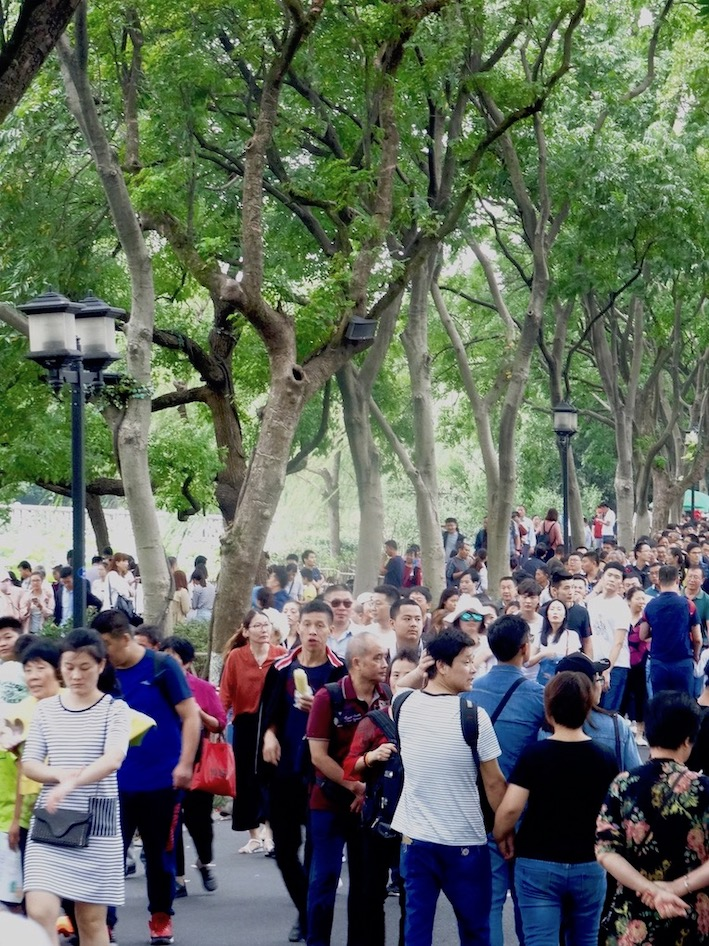 Su Causeway West Lake Hangzhou.