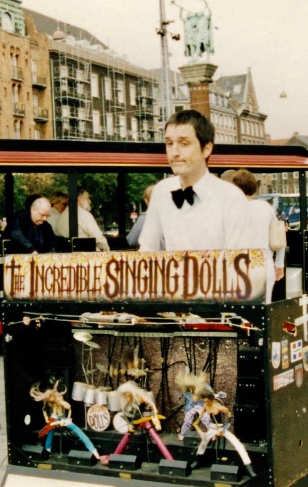 The Incredible Singing Dolls Copenhagen Denmark.