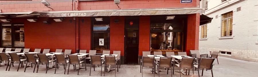 The Libertad music bar Leuven Belgium.