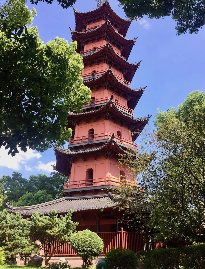Tianfeng Pagoda Ningbo China.