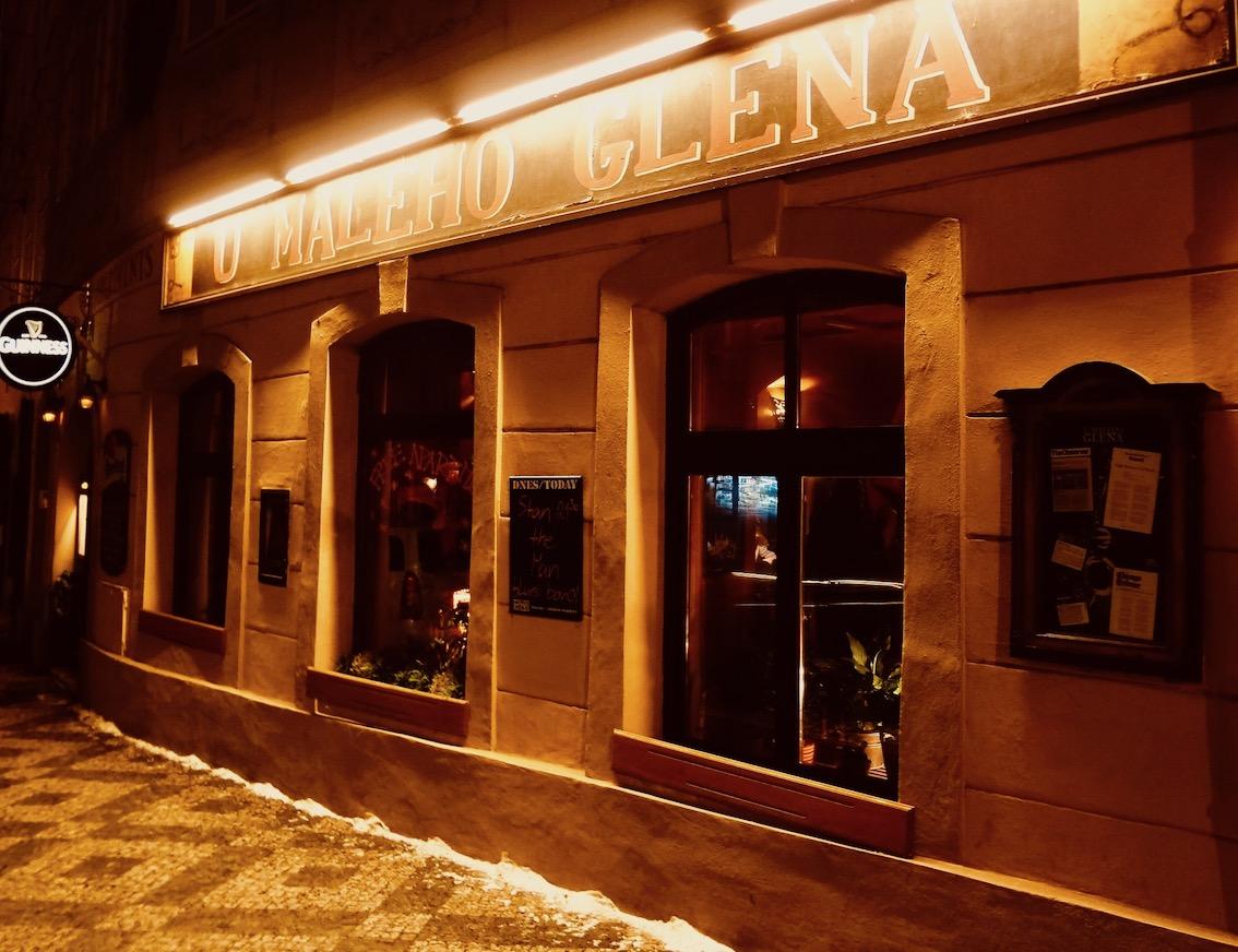 U Maleho Glena Bar and Jazz Club Prague.