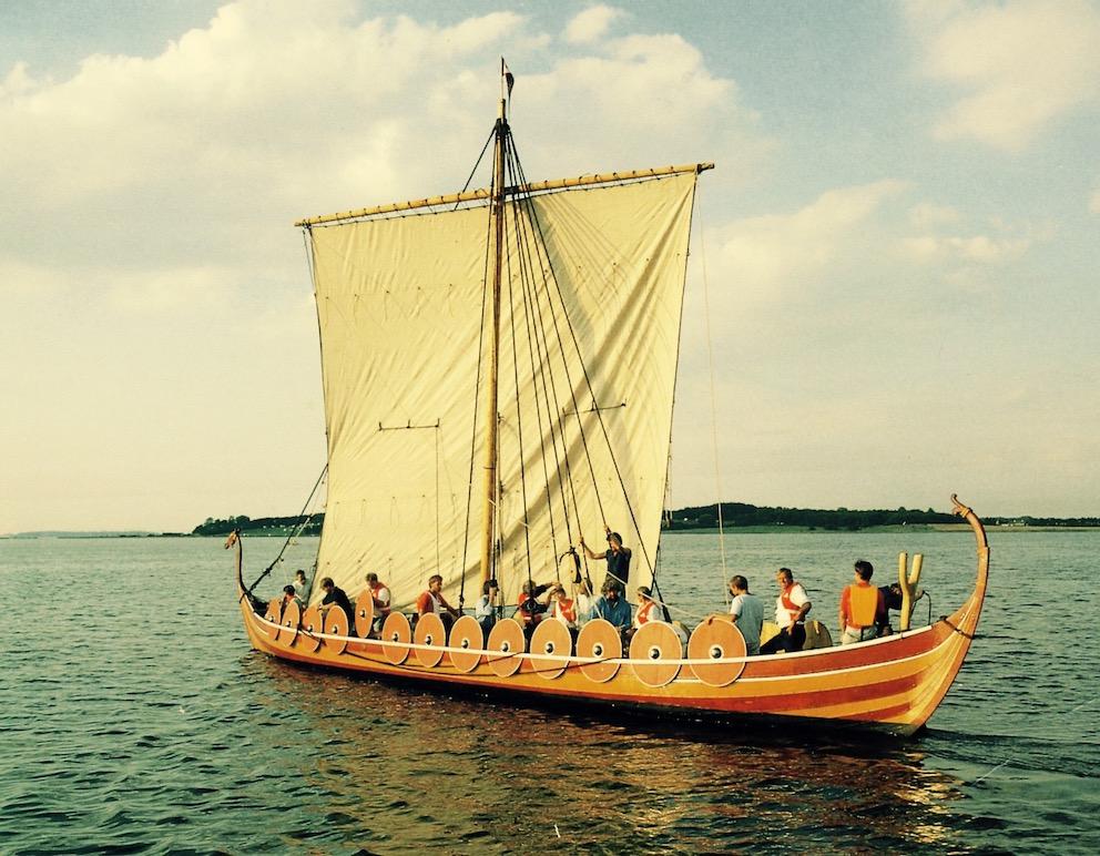 Viking Ship Museum in Roskilde Denmark.
