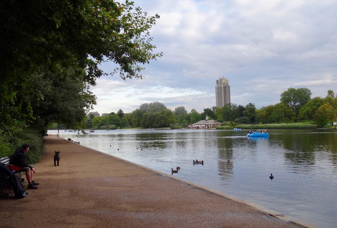 Visit Hyde Park London.