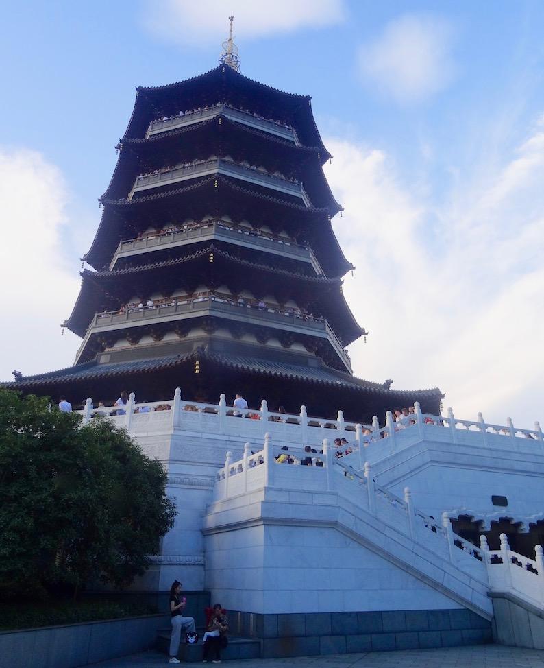 Visit Leifeng Pagoda Hangzhou.