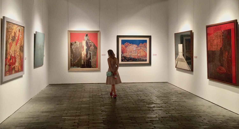 Visit Ningbo Museum of Art Zhejiang Province China.