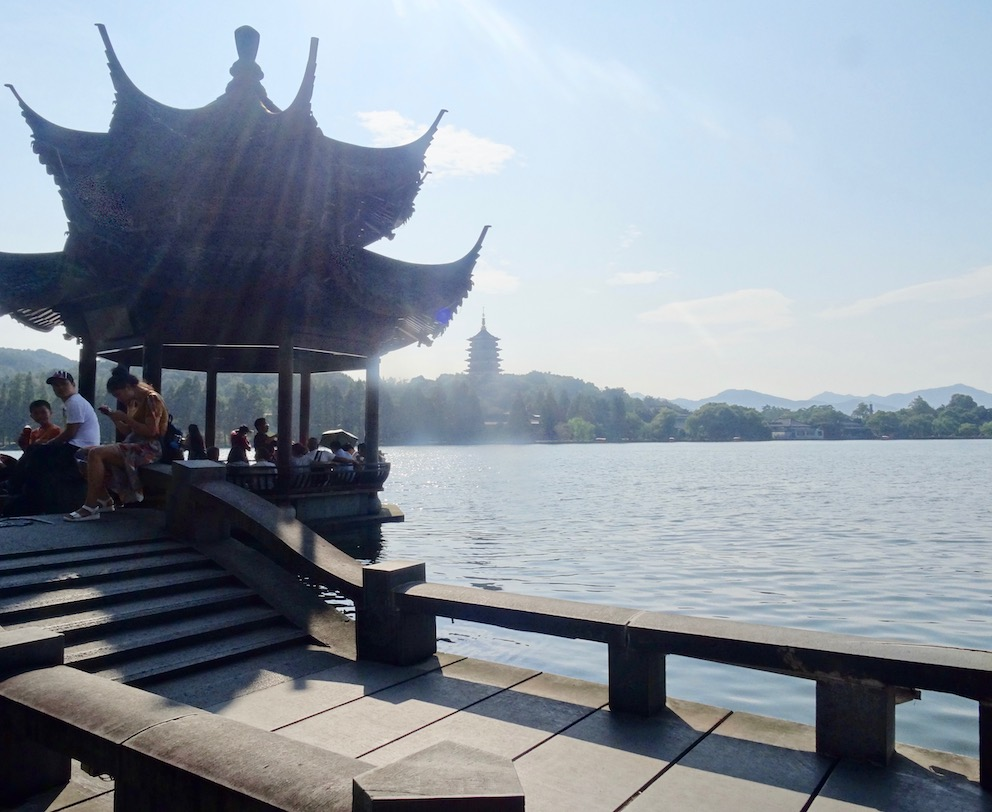 Visit Shuangtou Bridge West Lake Hangzhou.