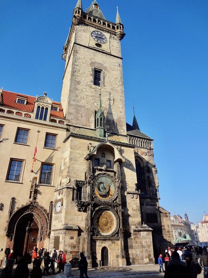 Visit The Astronomical Clock Old Town Hall Prague.