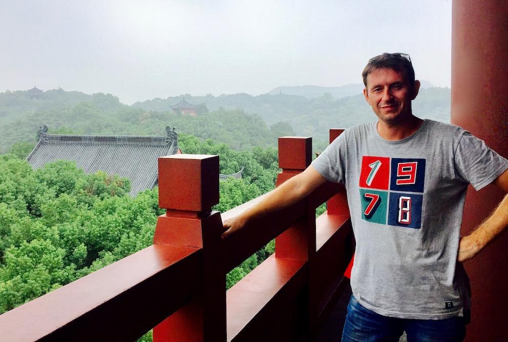 Visit Wushan Hill Hangzhou China.