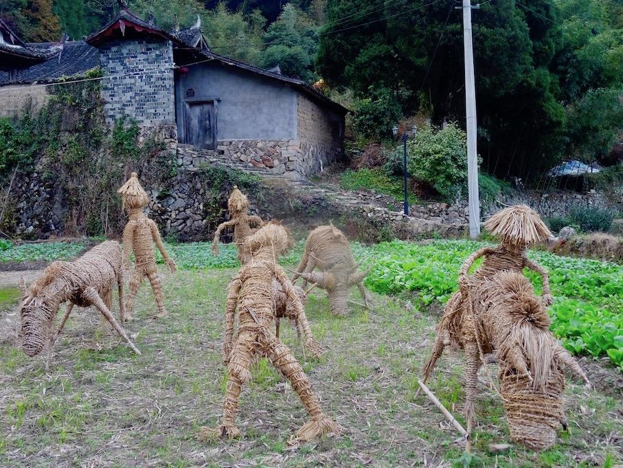 Visit Xu Ao Di Village Taishun County China.