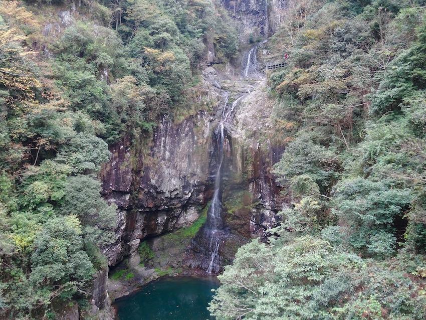 Waterfalls Nanpuxi Scenic Park Taishun County China.