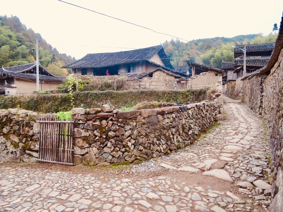 Xu Ao Di Village Taishun County China.