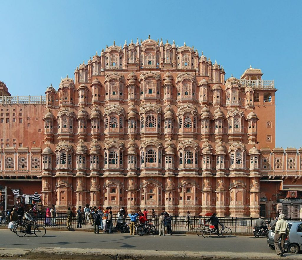 Hawa Mahal Jaipur India.
