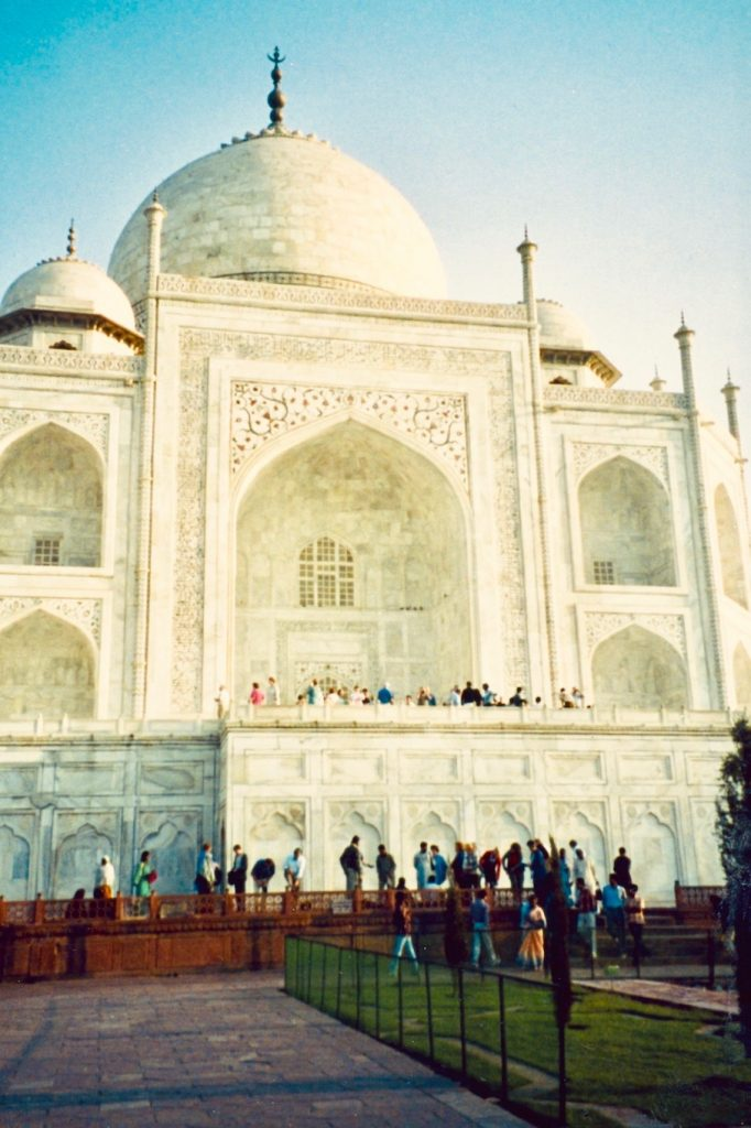 The Taj Mahal Agra India.