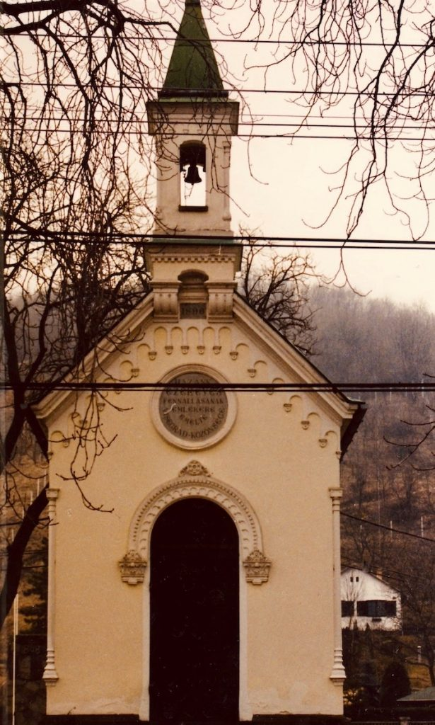 Tiny church Visegrad Castle Hungary.
