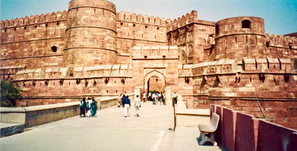 Visit Agra Fort India.