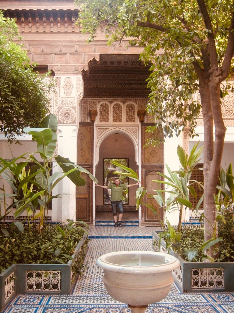Bahia Palace Marrakesh.