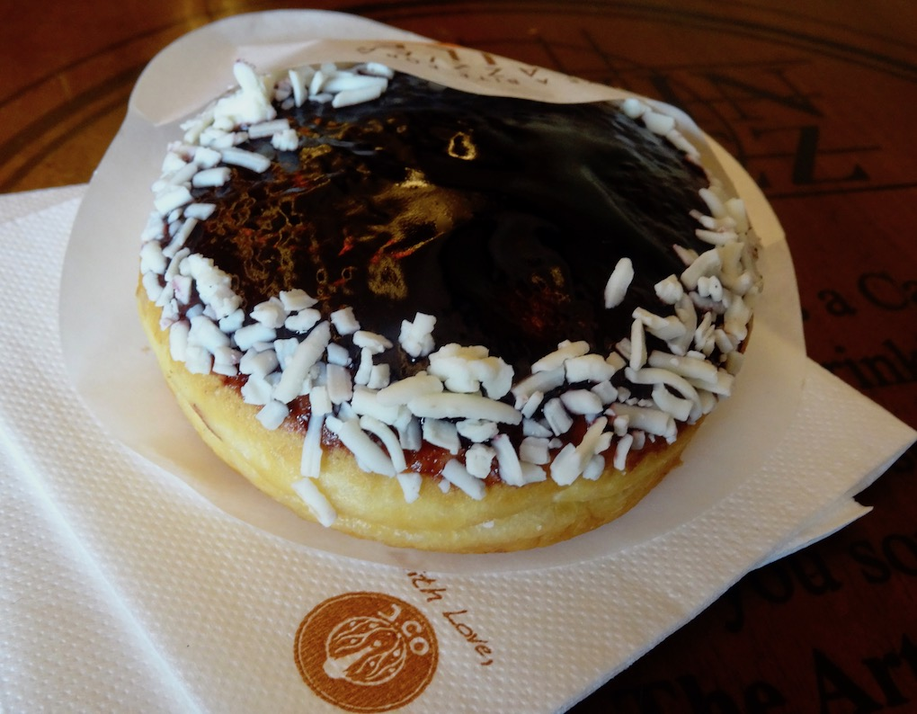 Blue Berrymore JCO Donuts and Coffee Johor Bahru.
