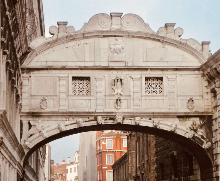 Bridge of Sighs Venice.