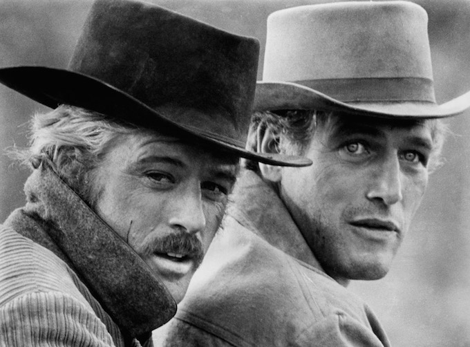 Butch Cassidy and the Sundance Kid Paul Newman Robert Redford.