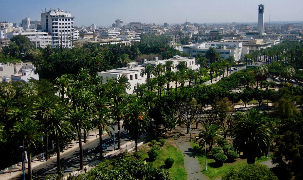 City views from Casablanca Cathedral.