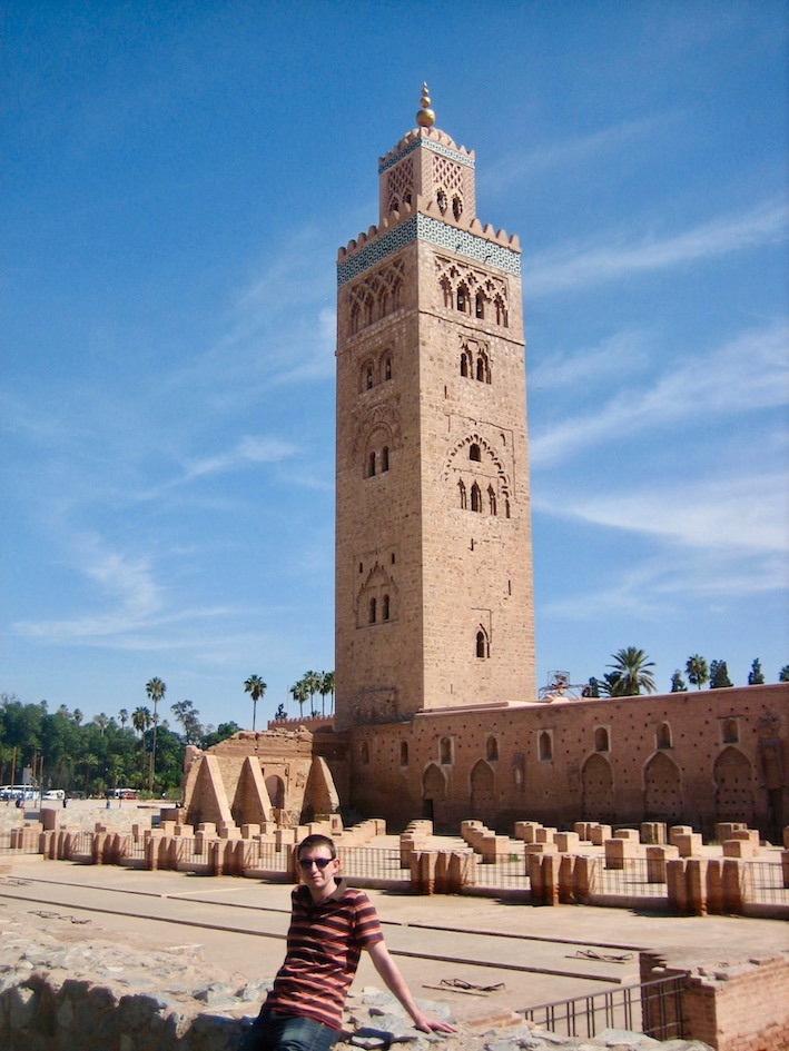 Koutoubia Mosque Marrakesh.