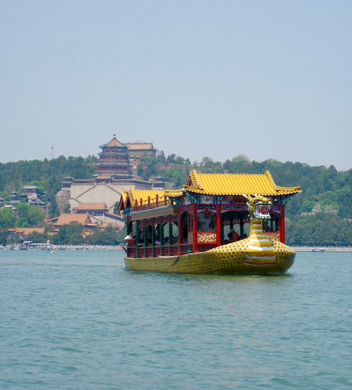Kunming Lake Summer Palace Beijing.