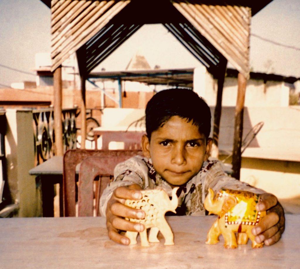 Local boy Hotel Shahjahan Agra India.