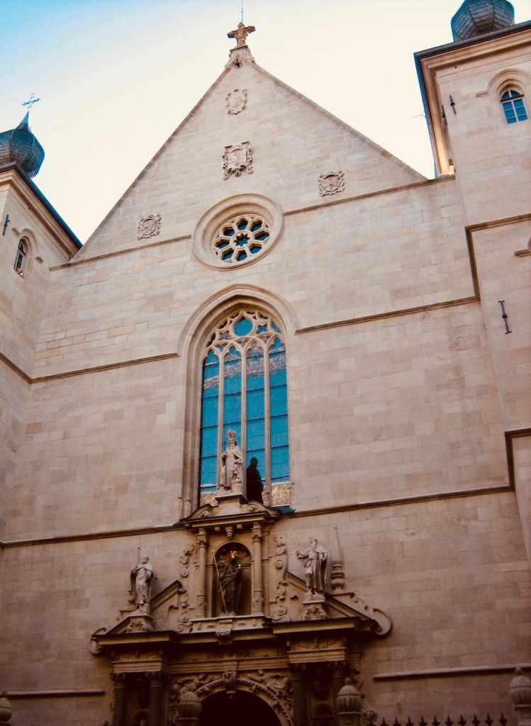 Notre Dame Cathedral Luxembourg City.
