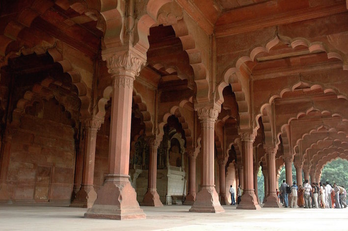 Red Fort New Delhi India.