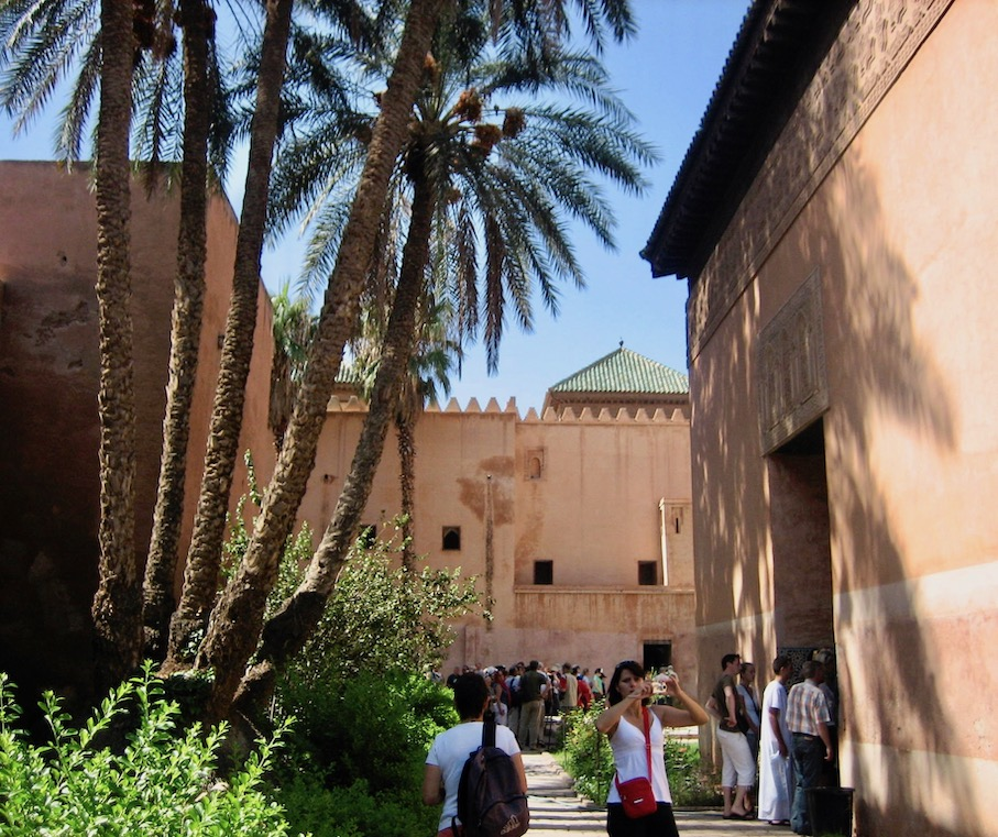 Saadian Tombs Marrakech.