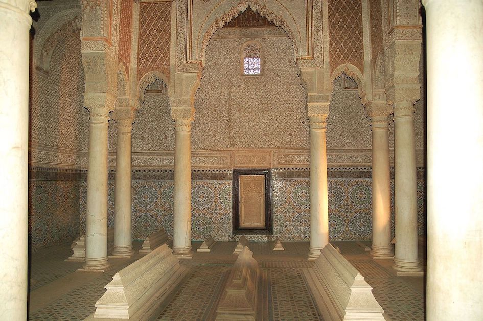 Saadian Tombs Marrakesh.