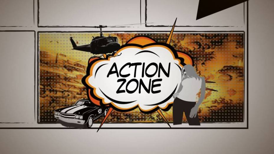 Action Zone Movie magazine TV show.