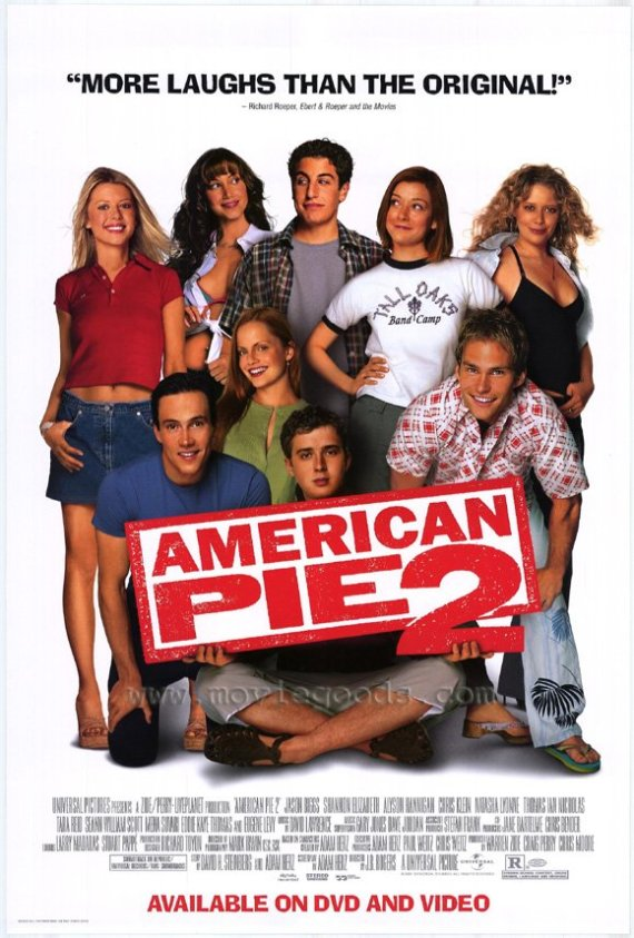 American Pie 2 movie poster.