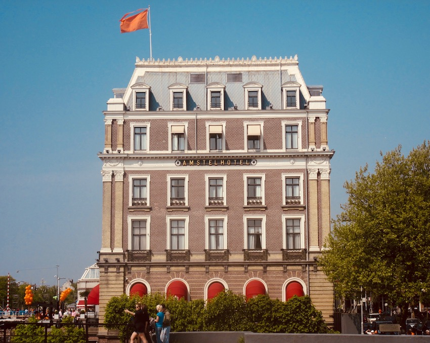Amstel Hotel Amsterdam.