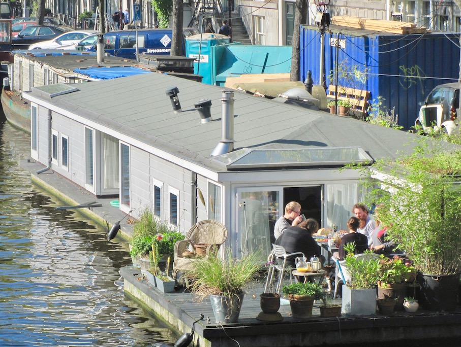 Canal house Amsterdam.