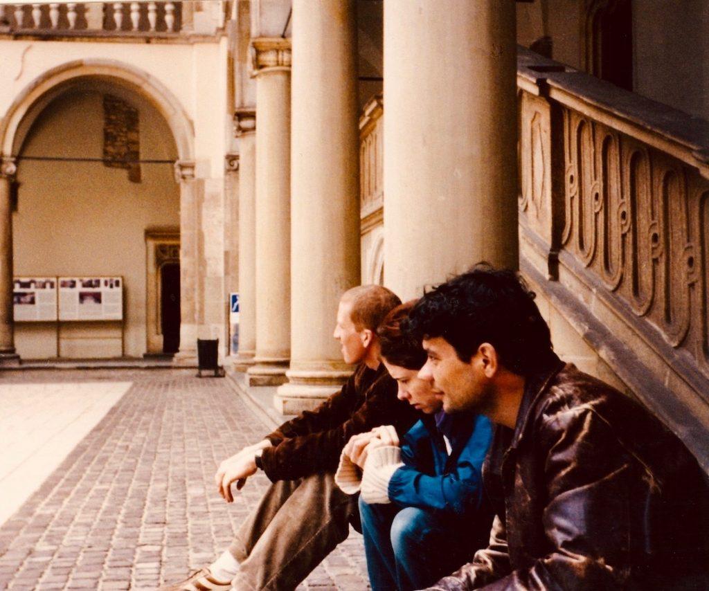 Chakra corner Renaissance Courtyard Krakow.