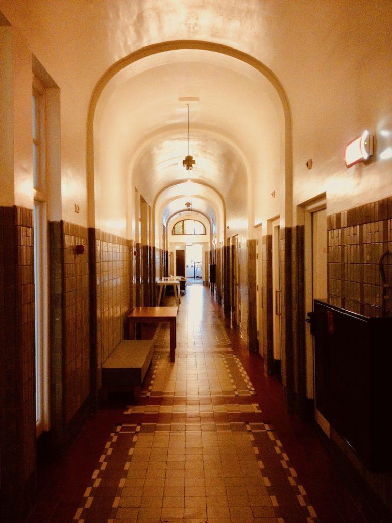 Creepy corridor Lloyd Hotel Amsterdam.