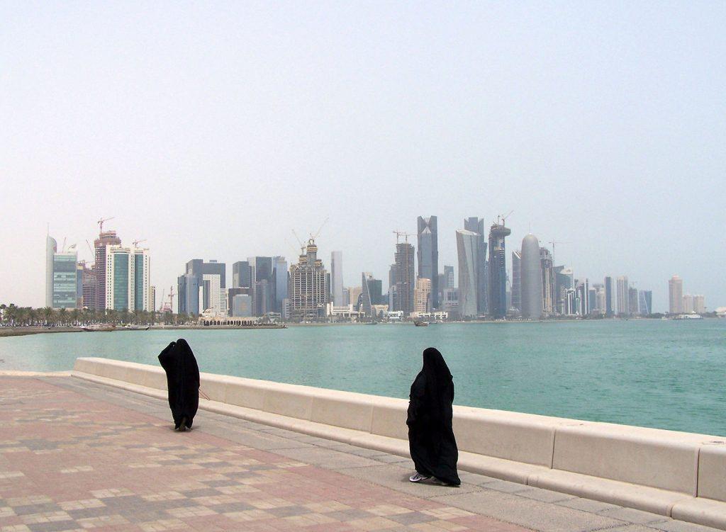 Doha Corniche Qatar.