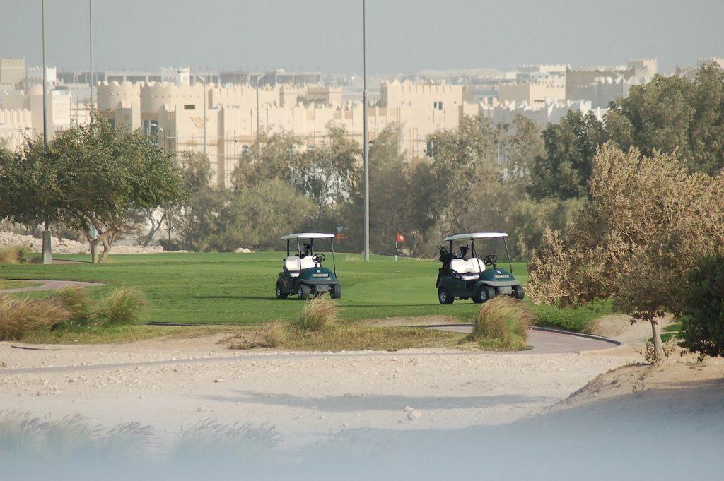 Doha Golf Club Qatar.