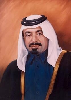 Emir Sheikh Khalifa bin Hamad binAbdullah bin Jassim bin Muhammed Al Thani.