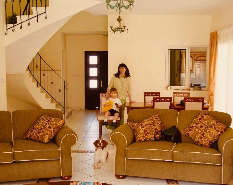 Family villa Beverly Hills Garden Doha.