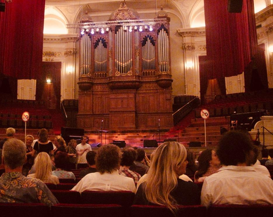 Inside Amsterdam Concertgebouw.