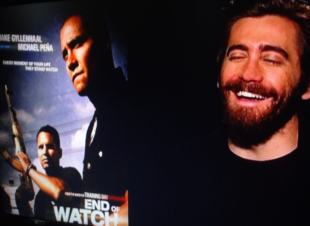 Jake Gyllenhaal Interview end of Watch.