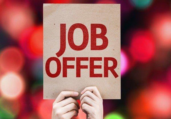 Job offer story.