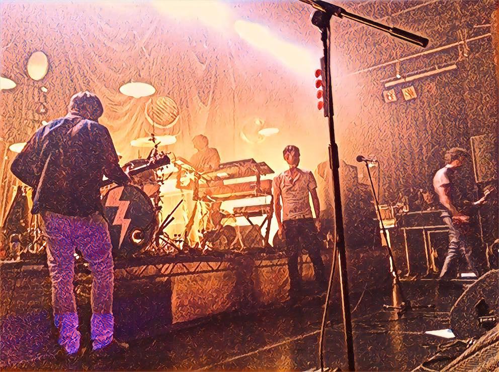 Kaiser Chiefs live at Melkweg Amsterdam 2012.