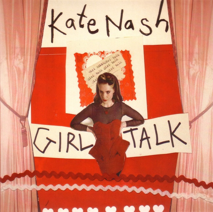 Kate Nash Girl Talk album cover.