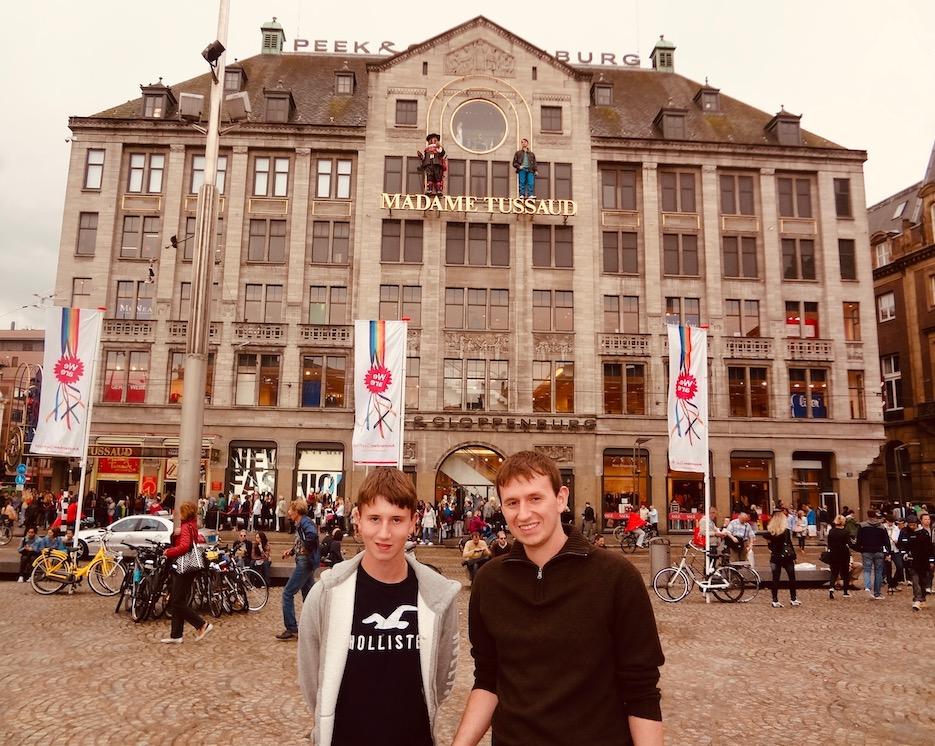 Madame Tussaud Dam Square Amsterdam.