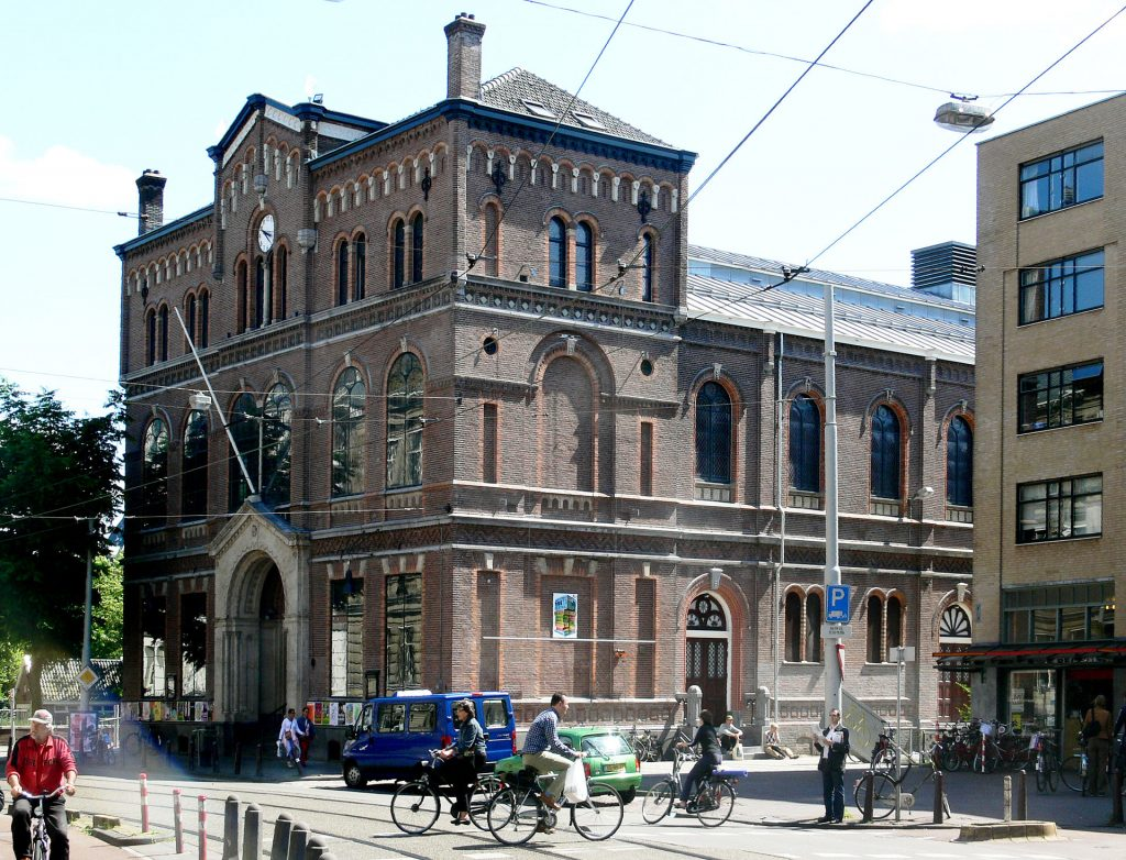 Paradiso Amsterdam live music venue.